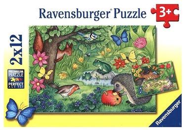 Ravensburger Puzzle Garden Vistors 2x12pcs 07610