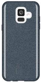Wozinsky Glitter Shining Back Case For Samsung Galaxy A6 Black