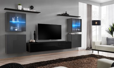 ASM Switch XIV Wall Unit Black/Graphite