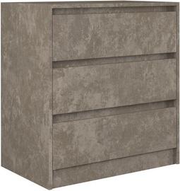 Комод Top E Shop Karo K3 Concrete, 70x43x78 см