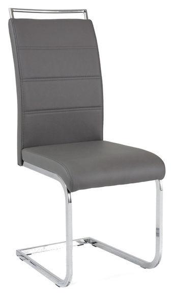 Ēdamistabas krēsls Signal Meble H441 Grey, 1 gab.