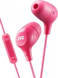 Наушники JVC HA-FX38M in-ear, розовый