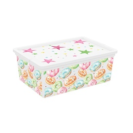 KIS C-Box Portobello Storage Box With Lid 11l