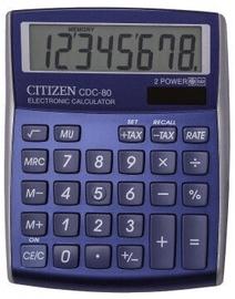 Калькулятор Citizen CDC-80BLWB, синий