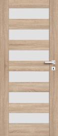 Полотно межкомнатной двери PerfectDoor ERIE 01, дубовый, 203.5 см x 74.4 см x 4 см