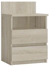 Ночной столик Top E Shop M1 Malwa, дубовый, 40x32x59 см