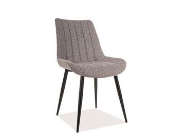 Ēdamistabas krēsls Signal Meble Zoom Grey/Black