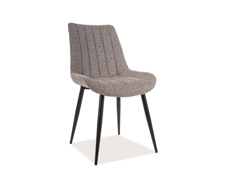 Signal Meble Zoom Chair Grey/Black