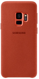 Samsung Alcantara Back Cover For Samsung Galaxy S9 Red