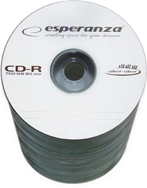 Esperanza 2001 CD-R 52X 700MB 100 Pack Spindle