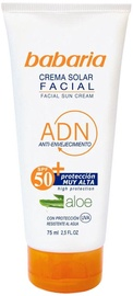 Крем для загара Babaria Aloe Vera Facial Sun Cream SPF50, 75 мл