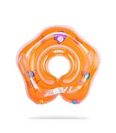 Надувное колесо Unknown Ring for babies Crabs, oранжевый