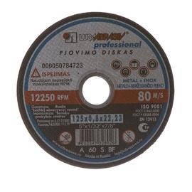 Griezējdisks metālam Luga Abraziv, 125x22,23x0,8mm