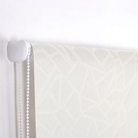 Veltņu aizkari Domoletti Cristal CR-01, balta, 1200 mm x 1700 mm