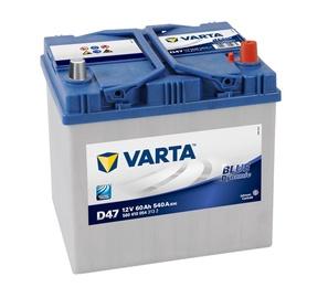 Akumulators Varta BD D47, 12 V, 60 Ah, 540 A