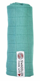 Lodger Swaddler Muslin Square 70x70cm Dusty Turquoise