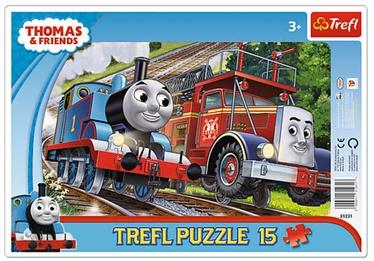 Puzle Trefl Frame Thomas and Flynn 31231, 15 gab.
