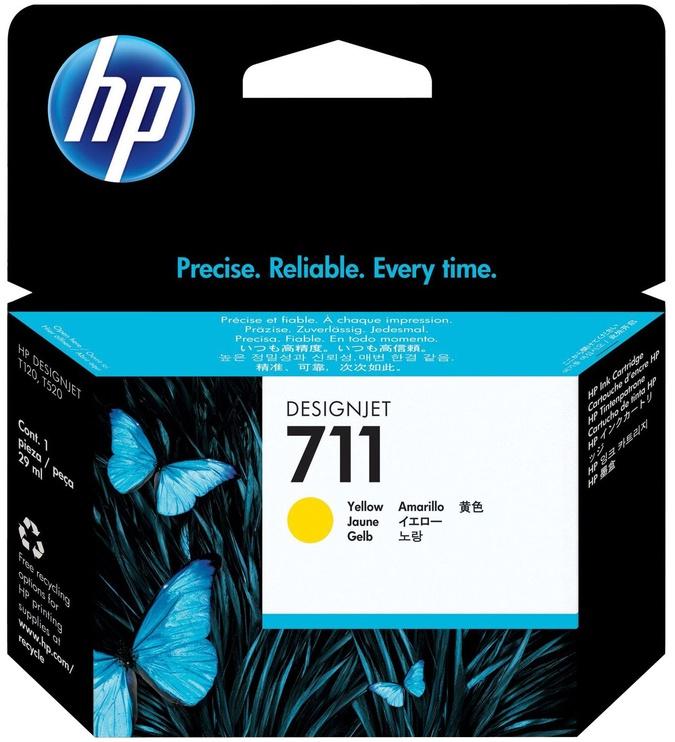 HP 711 3x Yellow