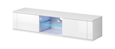 ТВ стол Vivaldi Meble Hit, белый, 1400x360x305 мм