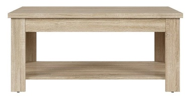 Kafijas galdiņš Black Red White Garum Sonoma Oak, 1100x650x505 mm