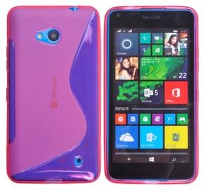 Telone Back Case S-Case Microsoft 640 Lumia Silicone Pink