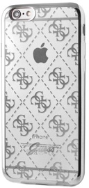 Guess 4G Design Ultra Thin Back Case For Apple iPhone 5/5s/SE Silver