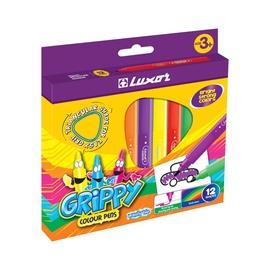 Luxor Grippy Colour Pens 1212