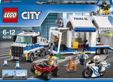 Konstruktors LEGO City Mobile Command Center 60139 60139, 374 gab.