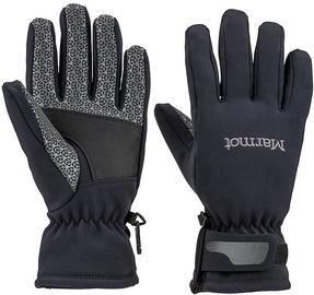 Marmot Womens Gloves Glide Softshell Black M