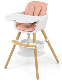 Barošanas krēsls Milly Mally Espoo, rozā