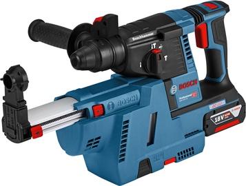 Bosch GBH 18V-26 F L-Boxx Rotary Hammer + GDE18V-16