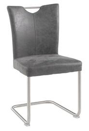 Ēdamistabas krēsls Black Red White Lea Anthracite