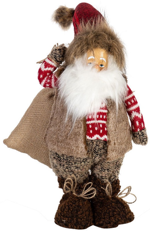 Home4you Christmas Decoration Santa With Red Hat 54cm
