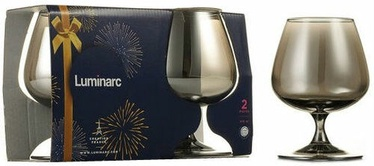 Luminarc Shiny Graphite Brandy Glasses 41cl 2pcs