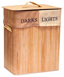 Ящик для белья Tatkraft Fortuna Bamboo Laundry Basket