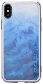 Devia Landscape Back Case For Apple iPhone X/XS Blue