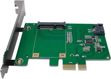 LogiLink mSATA SSD + SATA HDD Extension Card
