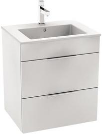 Jika Cube Basin Cabinet 550x607x430mm White
