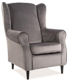 Кресло Signal Meble Baron Gray, 75x80x101 см