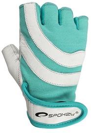 Spokey Emma Fitness Gloves Turquoise/White L