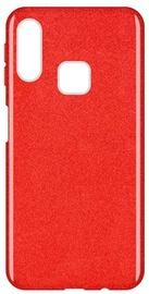 Wozinsky Glitter Shining Back Case For Samsung Galaxy A40 Red