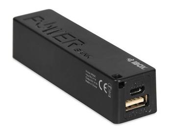 Ārējs akumulators iBOX PB06 Black, 2200 mAh