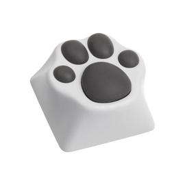 Zomoplus Kitty Paw Aluminum Keycap White/Grey