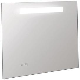 Kohler Replay LED Mirror w/ Digital Clock 80x65cm