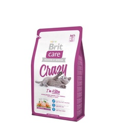 Sausā kaķu barība Brit Care Cat Crazy I'm Kitten 2kg
