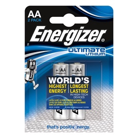 Energizer Ultimate Lithium Battery AA 2pcs