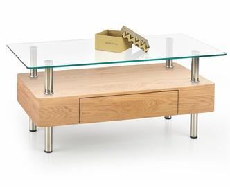 Kafijas galdiņš Halmar Margot Golden Oak, 1000x500x420 mm