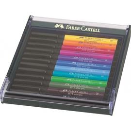Фломастер Faber Castell Pitt Artist Pen, односторонние, 12 шт.