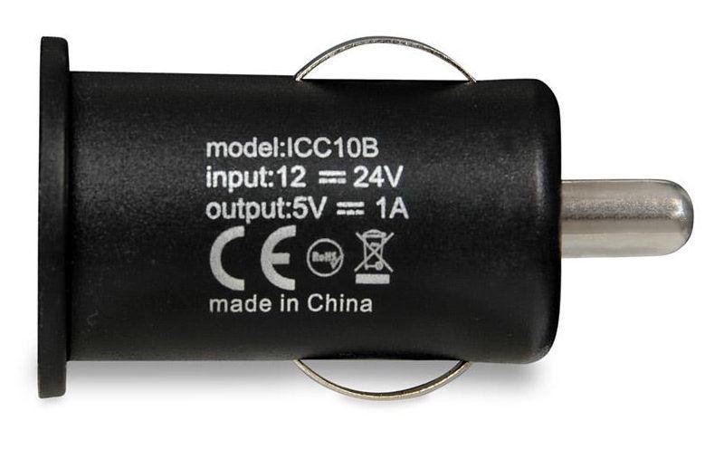iBOX C-10 USB Car Charger Black