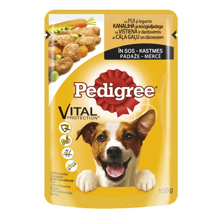 Pedigree Adult Chicken/Lamb 100g